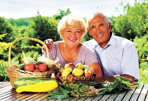 Alimentacion vejez saludable