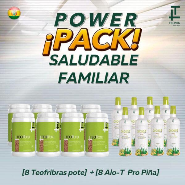Power Pack Saludable Familiar Detox